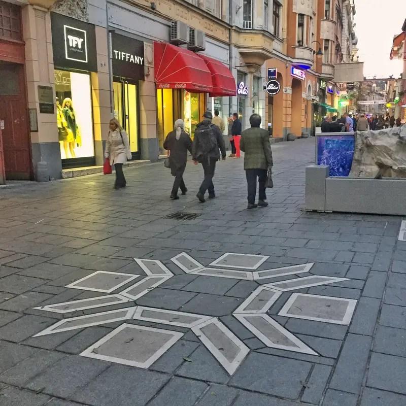 human streets of sarajevo