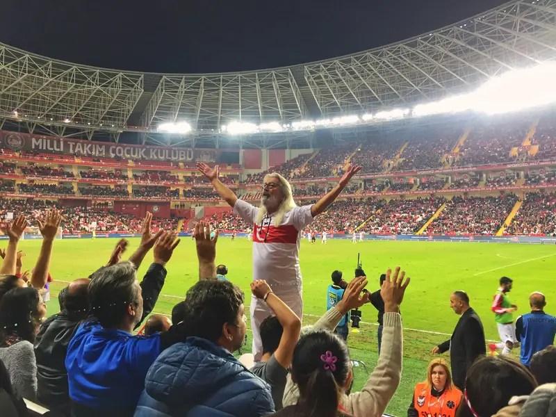 boss man at the turkish football