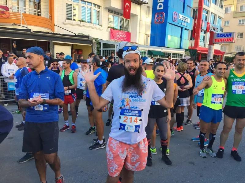 first marathon experience