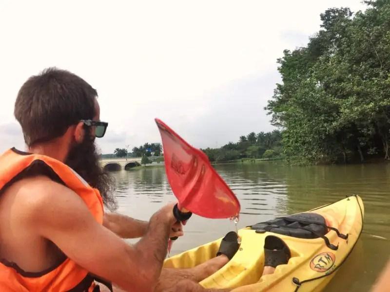 kayaking in malaysia
