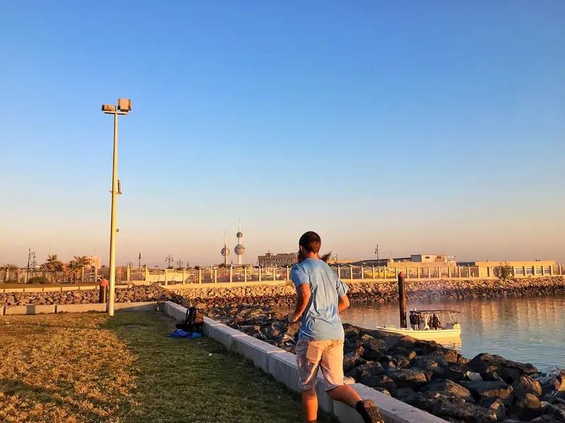 running in kuwait