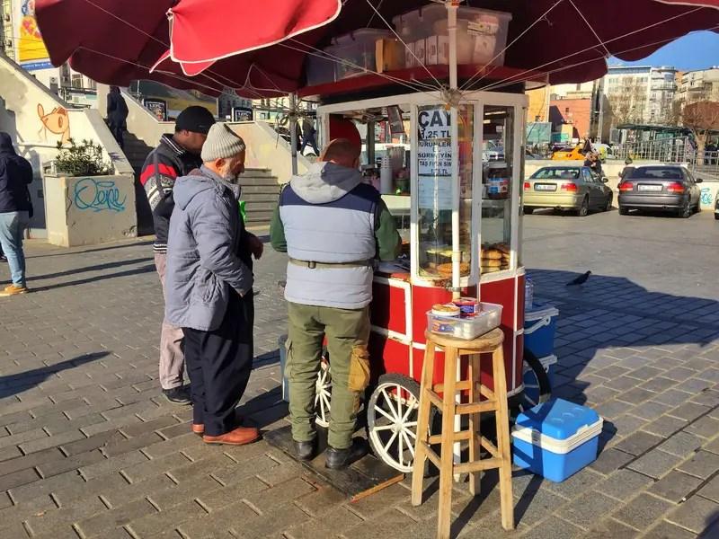 simet cart in istanbul