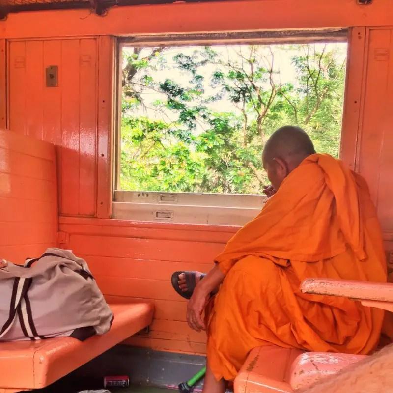 monk smoking