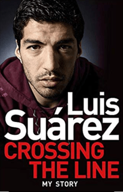 luis suarez crossing the line book cover