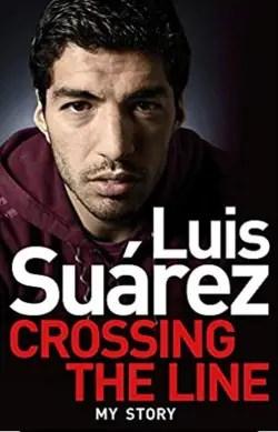 luis suarez crossing the line book cover