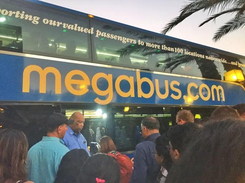 megabus hustle