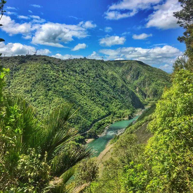 manawatu gorge river view