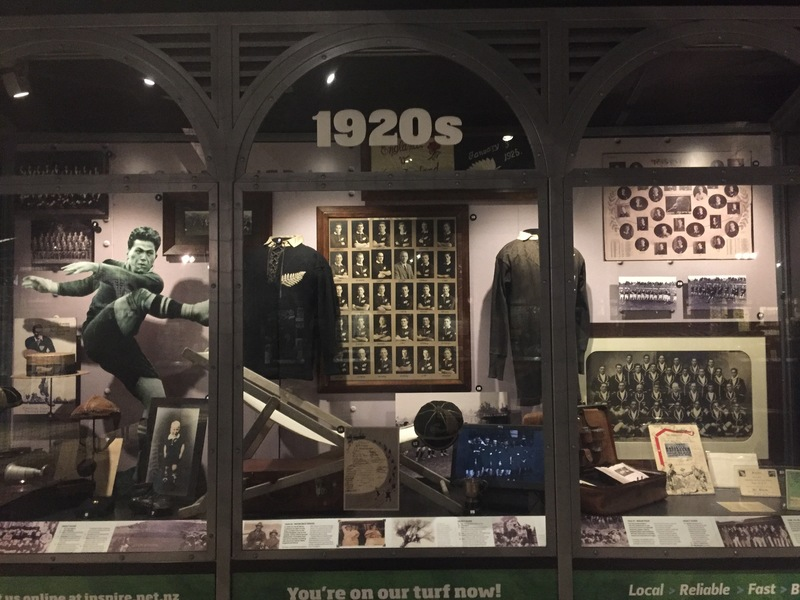 nz rugby museum displays