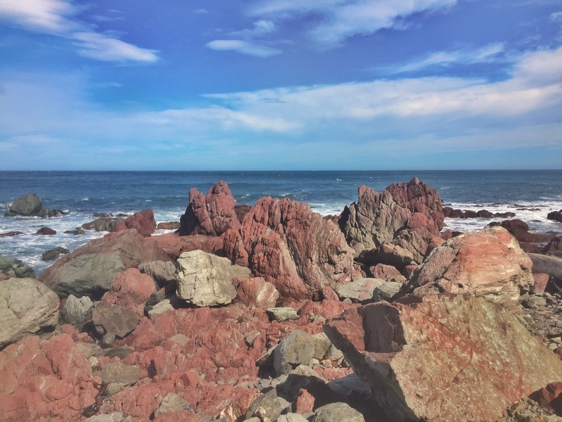 red rocks walkway wellington