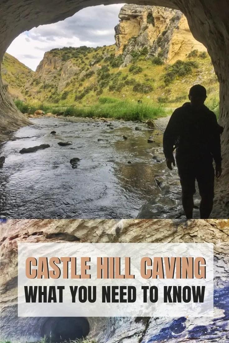 castle hill cave stream walk new zealand