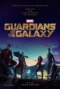 guardians of the galaxy movie poster 202x300 guardians of the galaxy movie poster