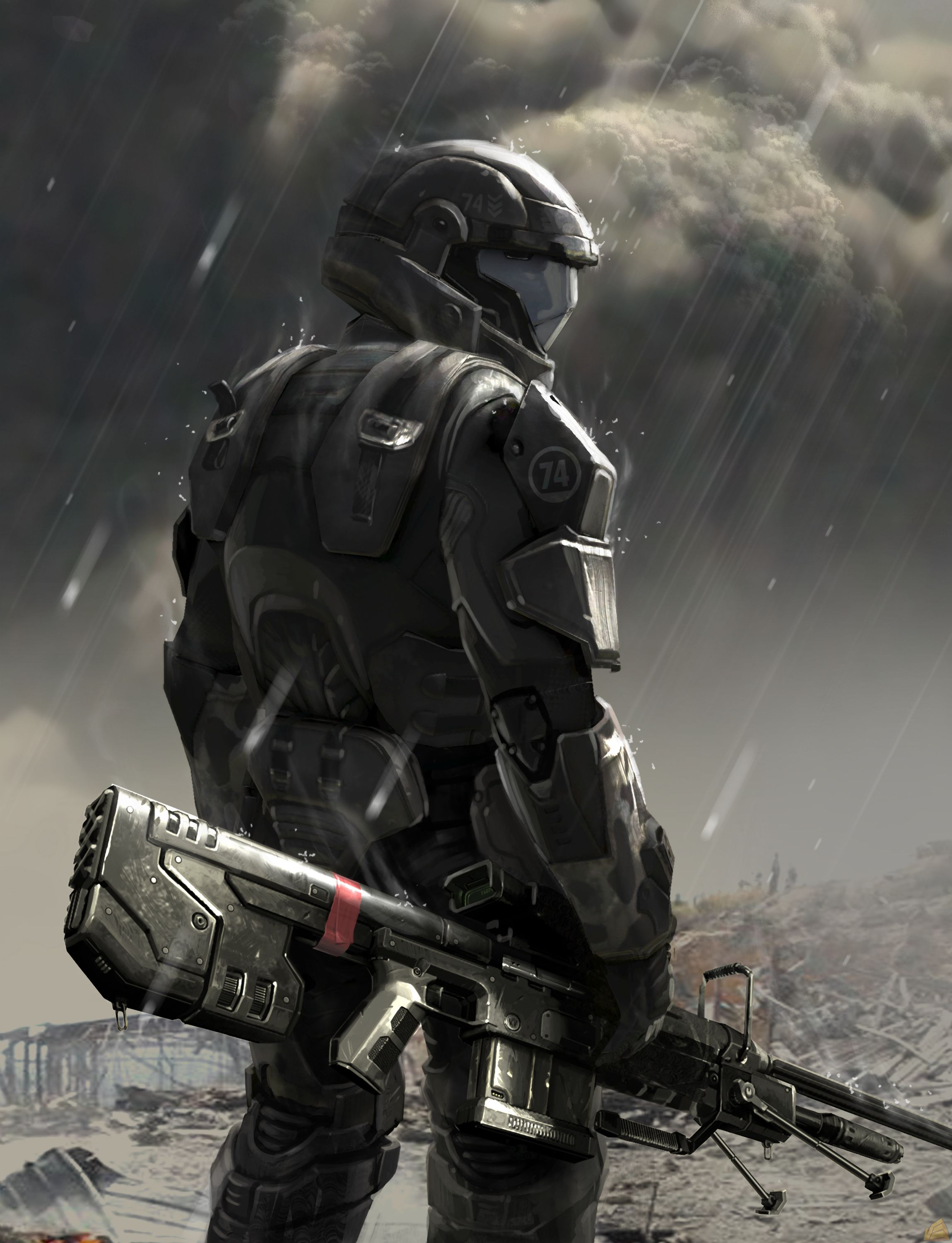 odst in the rain odst in the rain