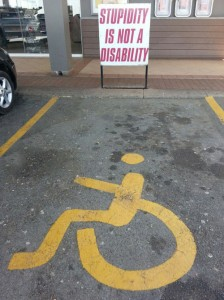 stupidity is not a disability 224x300 stupidity is not a disability