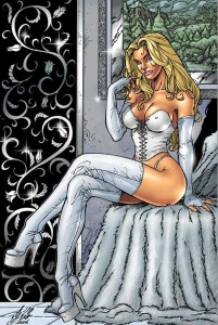 the white queen is emma frost 201x300 the white queen is emma frost