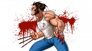 wolverine blood splatter 300x168 wolverine   blood splatter