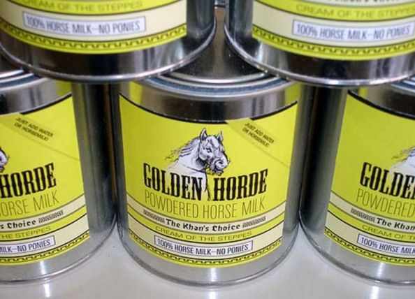 Golden Horde Powdered Horse Milk Golden Horde Powdered Horse Milk
