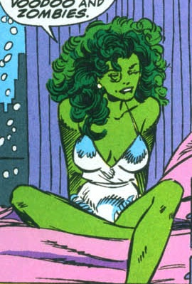 she hulk voodoo and zombies she hulk voodoo and zombies