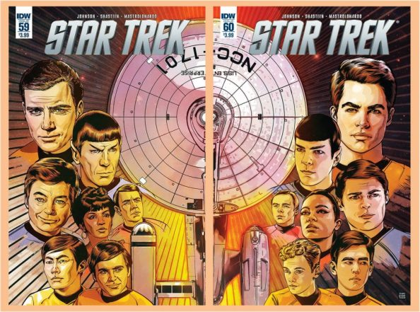 Star Trek 59 and 60 Joined Covers 1024x760 Star Trek 59 and 60 Joined Covers