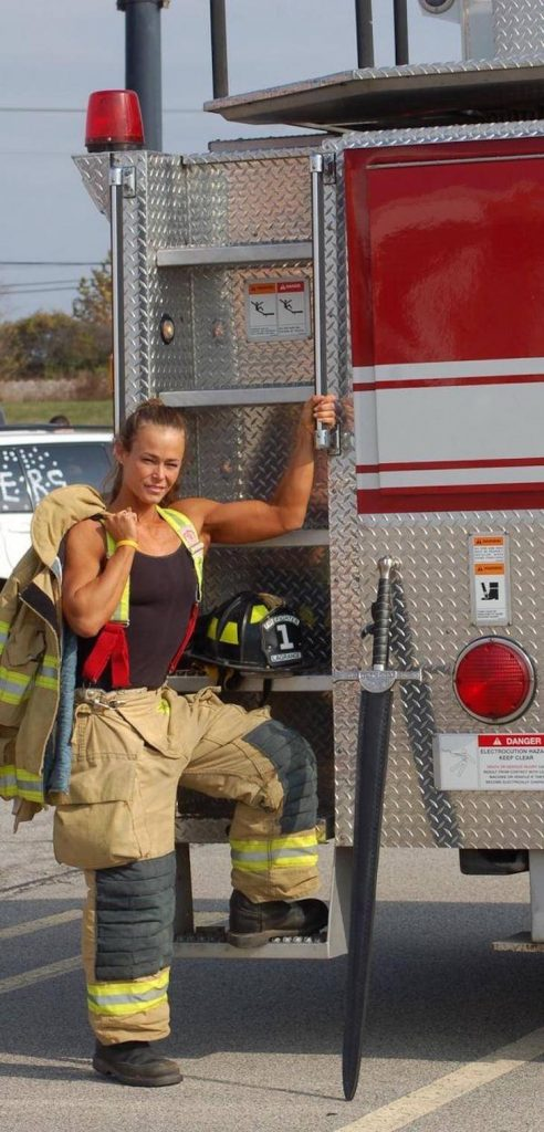 sexy female fire fighter 492x1024 sexy female fire fighter