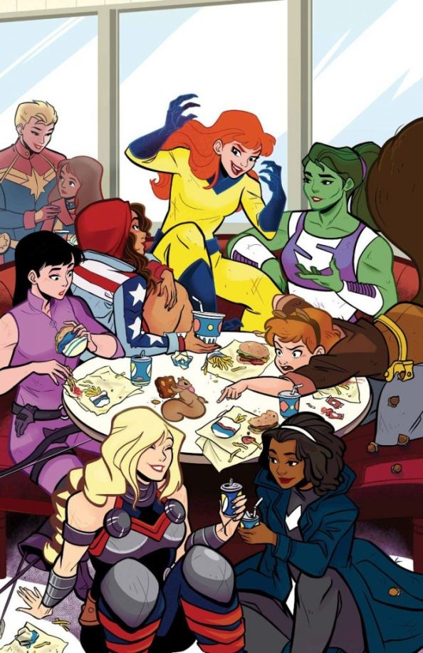Patsy Walker aka Hellcat and friends 663x1024 Patsy Walker aka Hellcat and friends