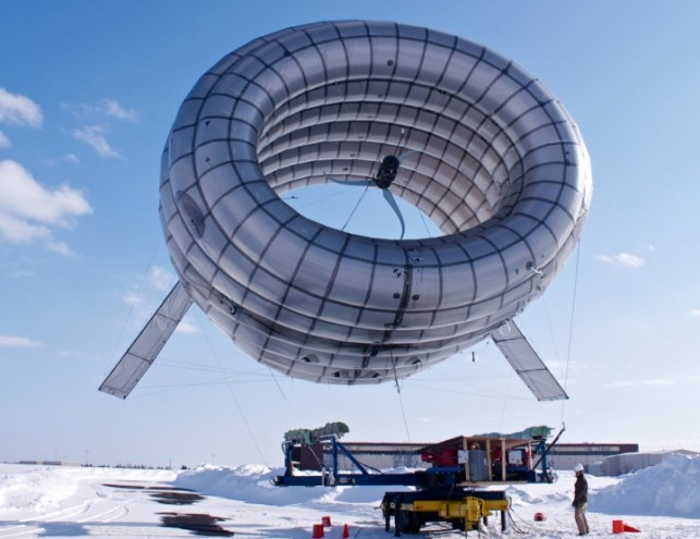 AlterosPrototype This balloon mounted turbine churns out both electricity and Wi Fi | DVICE