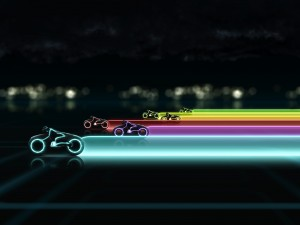 Tron cycles