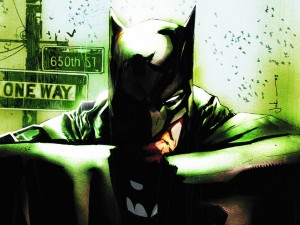 green batman