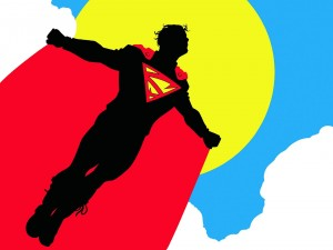 superman to the sun