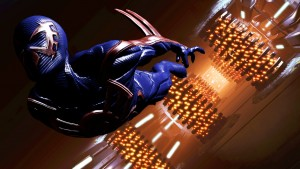 Spider-man 2099 Jumps