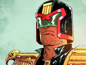Dredd is serious