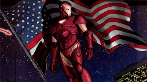 Patriotic Iron Man