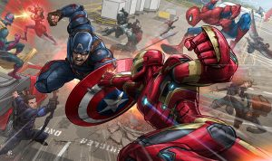 Civil War by Patrick Brown