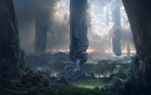 Halo 4 Forerunner Towers