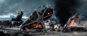 Ruined Tie Fighter
