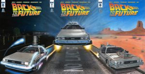 back tothe future comic cover wallpaper