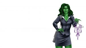 she hulk is a lawyer with a swimsuit