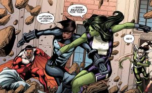 she hulk is a stuck up human cow