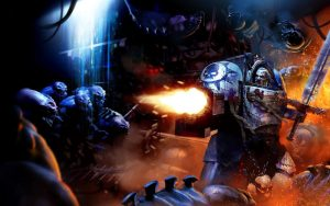 space marine vs xeno filth
