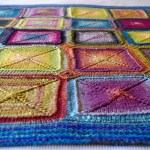 Knitting Blankets And A Pattern For Mitred Squares Knit As You Go Tikki