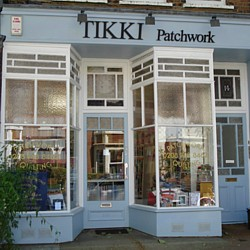 Tikki Quilt Shop, 293 Sandycombe Road, Kew Gardens, Surrey TW9 3LU (Greater London - easy to get to, only 30 min from Victoria Station)