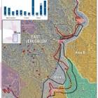 image of palestine/israel map