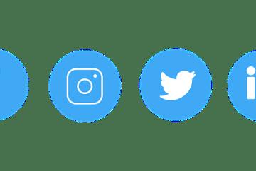 Sosiaalisen median markkinoinnin kuvakkeet - sasiepre / Pixabay