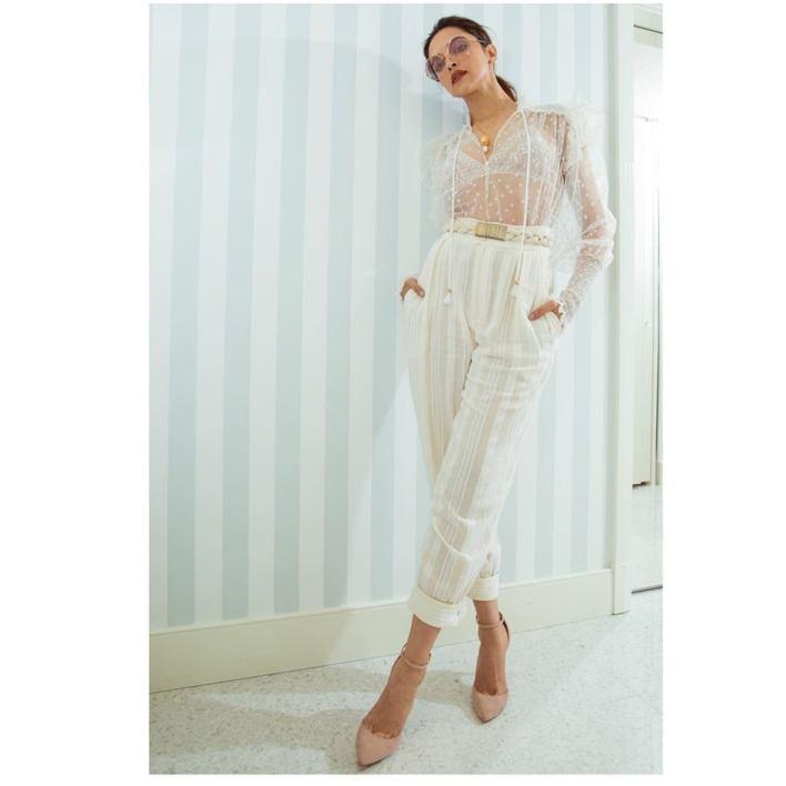 Deepika Padukone in white dress