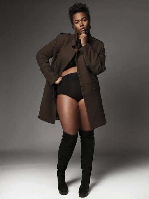 plus size model - Precious Victoria Lee