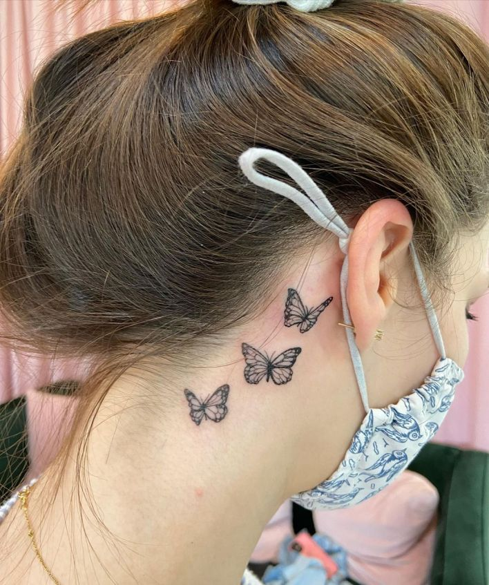 Butterfly Tattoo Small