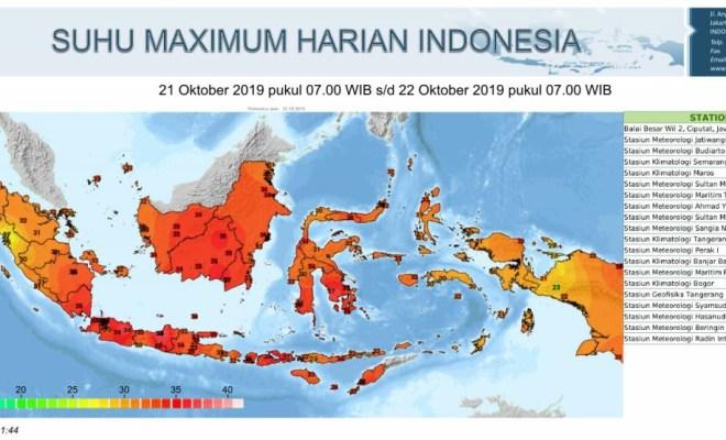 Sejumlah Kota Indonesia 'Dipanggang Bara', Ternyata Ini Penyebabnya