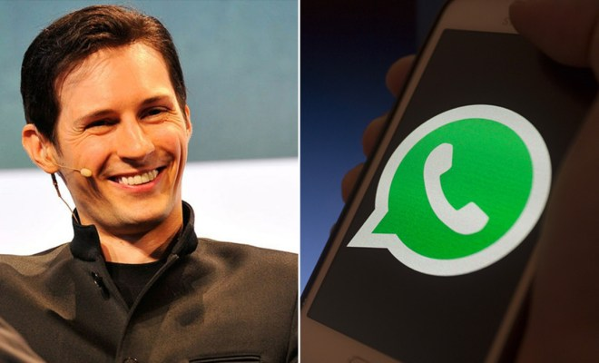 Alasan Bos Telegram Sarankan Aksi Massal Uninstall WhatsApp