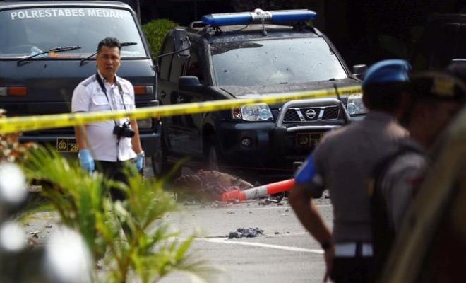 Bom Bunuh Diri Polrestabes Medan 2019