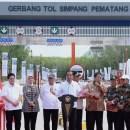 TIKTAK.ID - Presiden Jokowi Meresmikan Tol Pematang Sumatera