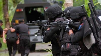 TIKTAK.ID - Ilustrasi Saat Densus 88 Menangkap Terduga Teroris